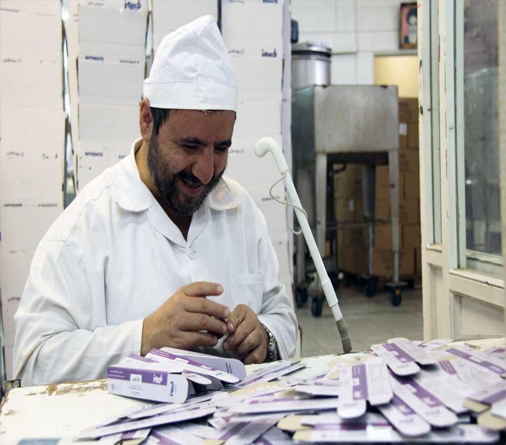 کارگاه بسته بندی محصولات فیروز