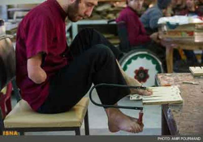 تاکید قائم مقام وزیر تعاون بر حمایت بهزیستی از هنرمندان معلول