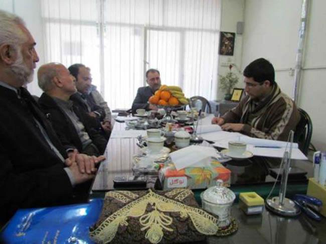 حضور نمایندگان انجمن رعد الغدیر و کاشانه مهر کاشان در کانون توانا