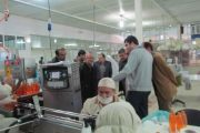 بازدید مدیران انجمن رعد الغدیر ،کاشانه مهر کاشان و مهرلیان بوشهر از فیروز
