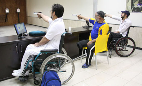 سومین مرحله تمرینات تیم تیراندازی معلولان آغاز میشود