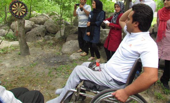 اعزام بیش از یکصد معلول به اردوی تنکابن