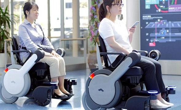 ویلچرهای خودکار مجهز به رادار معلولان را به مقصد می رسانند