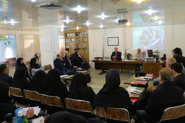نشست ماهانه خانه مشارکت مردم در  سلامت  استان قزوین با مدیران کانون توانا