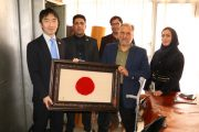 بازدید نماینده سفارت ژاپن از کانون توانا