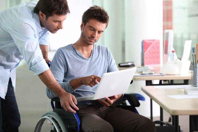 فناوری، بهترین حوزه کاری برای معلولان جسمی