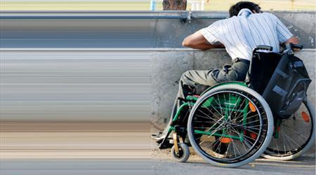 بیکاری افراد معلول نشانه ای از نقص در بازار است