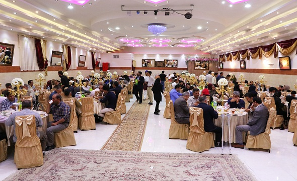 اولین ضیافت افطاری کانون معلولین توانا شعبه تاکستان برگزار شد