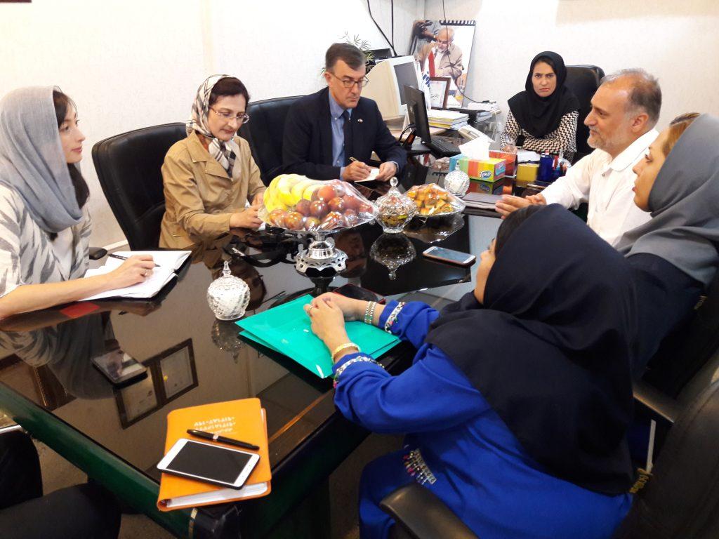 سفیر استرالیا در کانون توانا:  کانون معلولین توانا از برجستهترین سمنهای ایران است