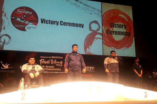 وزنه برداران ایران در دسته ۱۰۷ کیلوگرم دوم و سوم شدند