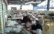 معلولان در خط مقدم تولید ماسک