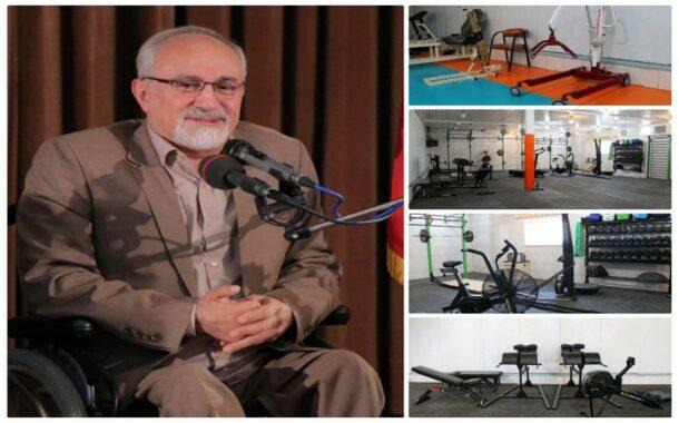 کارآفرین برتر کشور در زمینه اشتغالزایی معلولان: باشگاه ورزشی-توانبخشی فیروز با هدف ارتقاء سلامت کارگران معلول راهاندازی میشود