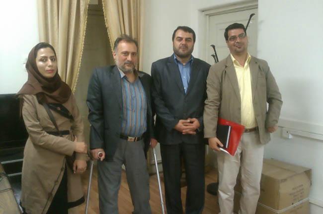 ملاقات کانون توانا با رییس دیپلماسی عمومی وزارت امور خارجه