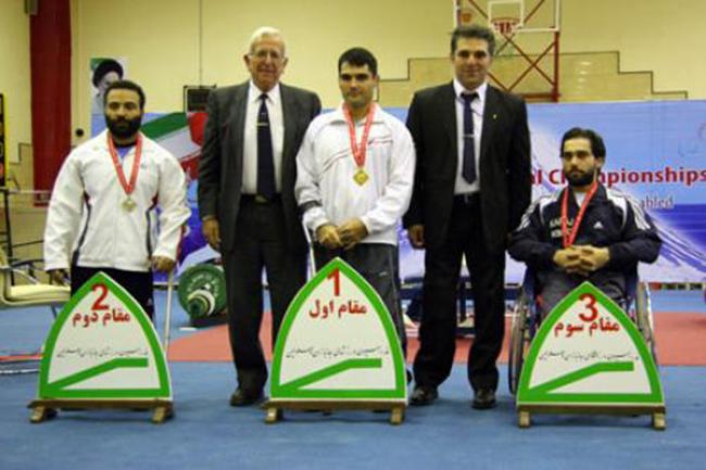 رقابتهای وزنهبرداری معلولان