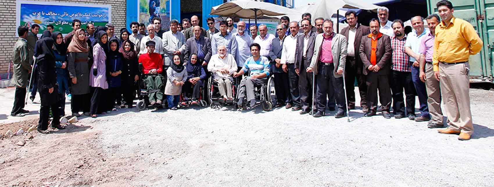 کانون معلولین توانا اولین نشست ماهانهی خود در سال جاری را برگزار کرد