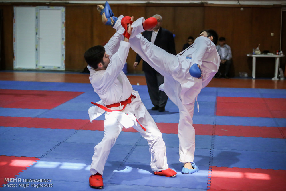 مقررات فنی کاراته