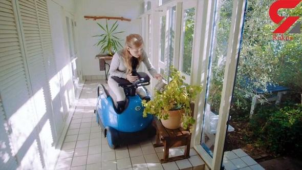 صندلی چرخدار رباتیک برای کمک به معلولان
