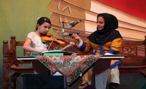 کودک هنرمند:نگار طاهر خانی