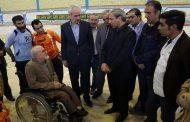 افتتاح نخستین سالن ورزشی جانبازان و معلولین شهرستان البرز