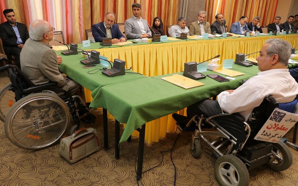 بلوریان:  وجود شبکهای ملی برای پیگیری مسائل معلولان لازم است
