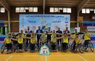 قزوین، قهرمان رقابتهای بسکتبال با ویلچر مردان شد