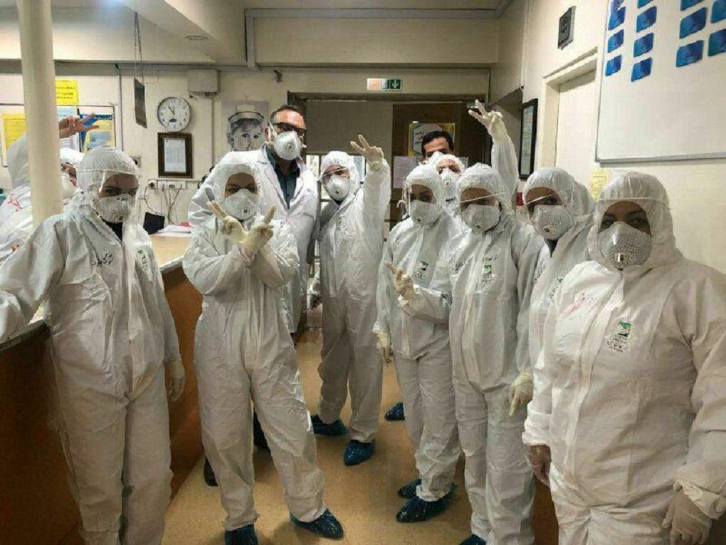 بیانیه تقدیر از پزشکان، پرستاران،  کارشناسان آزمایشگاه و کادر درمانی برای مقابله با ویروس کرونا