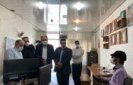 مدیرکل فرهنگ و ارشاد اسلامی استان قزوین از نشریه پیک توانا بازدید کرد