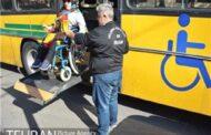 بهره مندی 4000 معلول از سامانه حمل و نقل ویژه