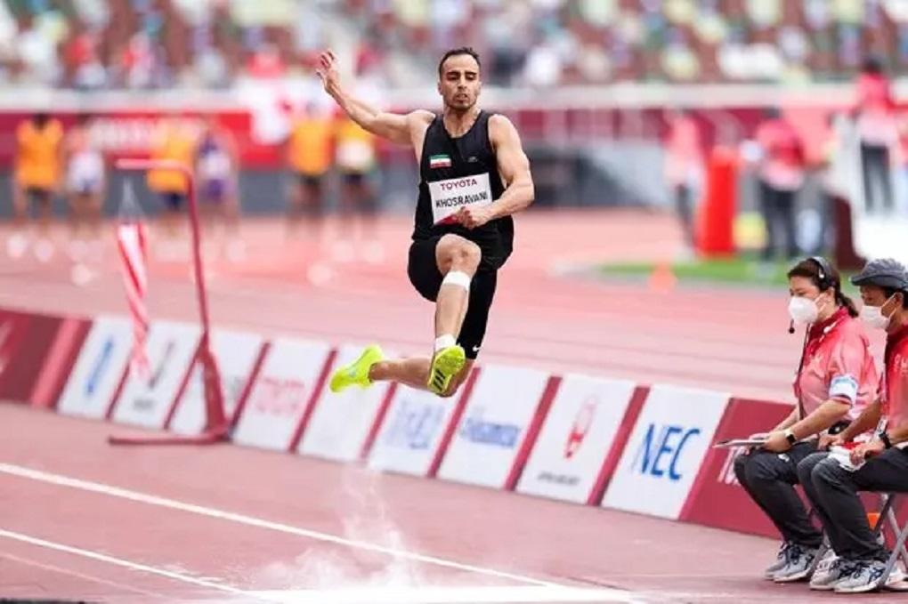 «پرش» امیر خسروانی به طلا تبدیل شد/ چهارمین مدال طلا برای ایران